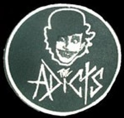 Parche bordado The adicts