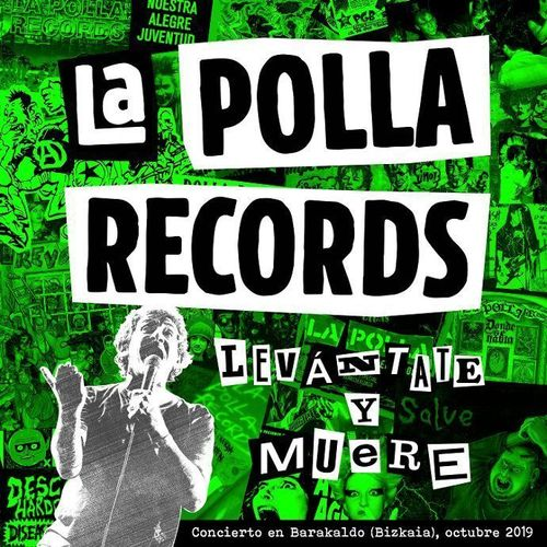 LP LA POLLA RECORDS - LEVANTATE Y MUERE - DOBLE VINILO + DVD